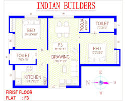 residential building plans indian house plans for square ina pdf south building 1200