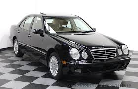 mercedes e 320 2002 used mercedes e class certified e320 4matic awd sedan