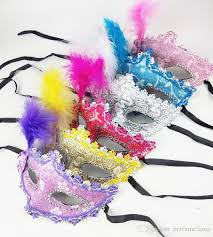 masks for kids venetian lace feather eye mask beautiful princess party
