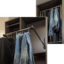 wardrobe lifts u0026 racks closet organizers organizers