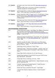 Oracle Sql Resume Resume In Oracle