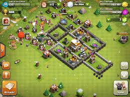 coc village layout level 5 image sonofcaveman jpg clash of clans wiki fandom powered by