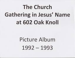 thanksgiving 1992 date gatherings in jesus u0027 name church album 1992 u201193