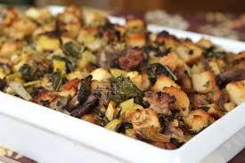 thanksgiving sausage dressing wild mushroom sausage apple and kale stuffing circulon