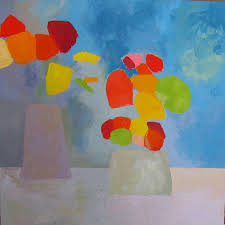 vased flowers in private collections 1 fauvist modern milton avery primitive naive art abstracted landscapes stilllifes jill finsen paintings