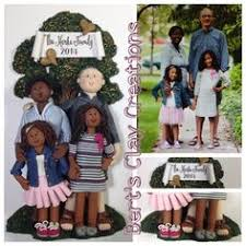 and groom custom ornaments 2 by bertsclaycreations on etsy
