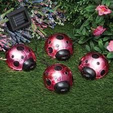 Ladybug Solar Garden Lights - solar tiffany style garden globe item 47343 14 99 our art glass