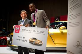 gold nissan car bolt gold u201d gt r charity auction to start thursday