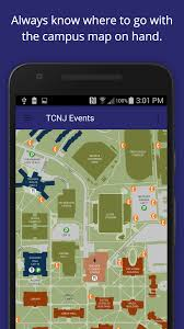tcnj map tcnj events android apps on play