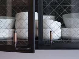 Kitchen Cabinets With Glass Doors The 25 Best Glass Cabinet Doors Ideas On Pinterest Glass