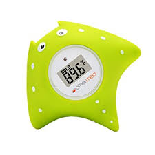amazon com mothermed baby bath thermometer and floating bath toy