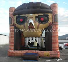 Halloween Inflatables Haunted House by Inflatable Haunted Bounce House Inflatable Haunted Bounce House