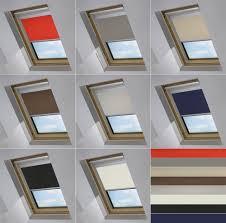 blackout skylight roller blinds for velux roof windows all sizes