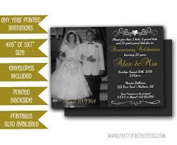 free printable vow renewal invitations photo 50th anniversary invitations chalk golden wedding