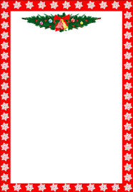 themed writing paper 487 free christmas borders and frames