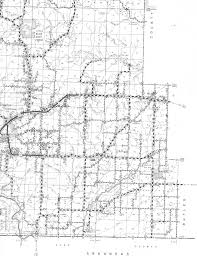 Missouri Road Map Map Of Ripley County