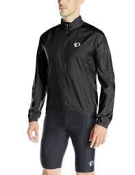 cycling windbreaker amazon com pearl izumi ride men u0027s elite barrier jacket