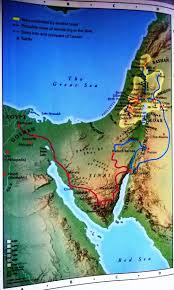 Map Of Canaan 25 Best Bible Maps Images On Pinterest Bible Studies Holy Land