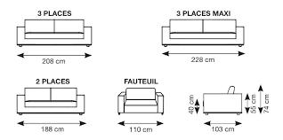 dimensions canap 2 places dimension lit deux places lit deux places taille dimension canap 2