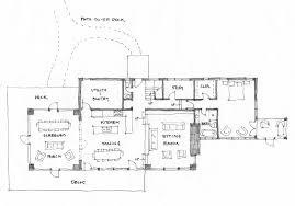 Georgian Floor Plan by Georgian Bay Cottage James Ireland Architect Inc