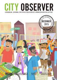 Journal Urban Design Home City Observer Volume 2 Issue 2 December 2015 By Urban Design