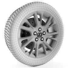 lexus tiles prices lexus hs 250h wheel by m190393 3docean