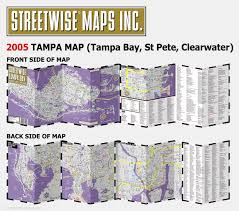 Tampa Airport Map Streetwise Tampa Map Laminated City Center Street Map Of Tampa
