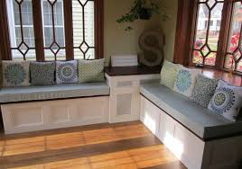 Simple Storage Bench Plans by Bench Seating With Storage For Kitchen U2013 Pollera Org