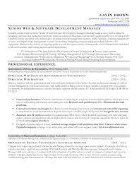 Front End Web Developer Resume Sample Web Developer Resume Objective Senior Front End Web Developer