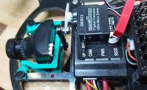 gemini flight camera gimbal for fpv racing