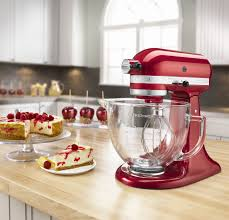 Kitchen Aid Standing Mixer by Kitchenaid Candy Apple Red Stand Mixer Ksm155gbca