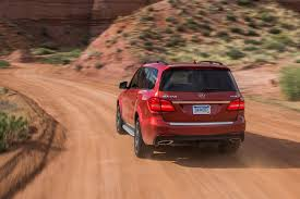 mercedes benz jeep red 2017 mercedes benz gls class review the s class of suvs