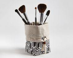 travel makeup brush bag makeup bag makeup brush by madeonmainvt