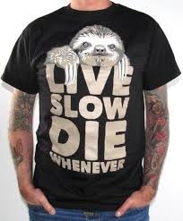 Sloth Meme Shirt - funny t shirt live slow die whenever sloth t shirt sloth t shirt