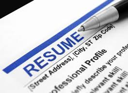 resume writing writing