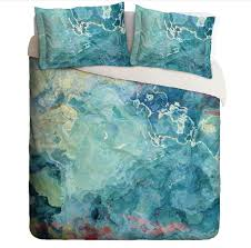 Teal Duvet Cover Abstract Art Green Duvet Covers U2013 Abstract Art Home