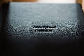 leather bound wedding albums alben pascal landert wedding documentary photography