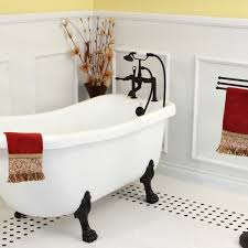 Clawfoot Tub Faucet With Shower Deck Mount Clawfoot Oil Rubbed Bronze Tub Faucet With Hand Shower