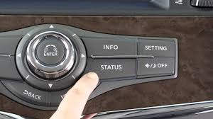 2016 infiniti qx80 control panel and touch screen overview youtube