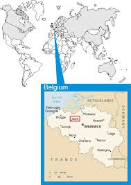 Brussels Germany Map Belgium World Map Location New Zone