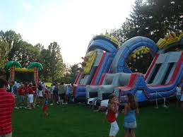 carnival rentals company picnic ohio oh bounce house carnival rentals