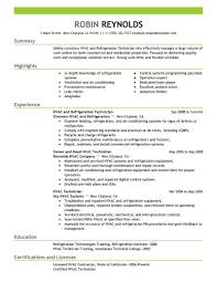 Example Resume For Maintenance Technician by Outstanding Apartment Maintenance Technician Resume Sample With