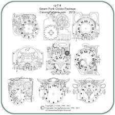 Celtic Wood Burning Patterns Free by Steampunk Clocks Patterns U2013 Classic Carving Patterns
