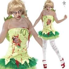 Walking Dead Halloween Costume Ladies Zombie Fairy Costume Womens Walking Dead Halloween Fancy