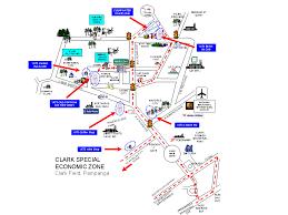 clark map clearwater resort hotel manila angeles clark panga