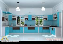 Modren Kitchen Design Kerala Houses Of Impressive Wooden Interior - Interior design of a house
