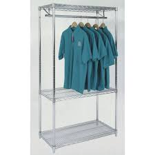 wardrobe racks inspiring wire shelving garment rack wire clothes