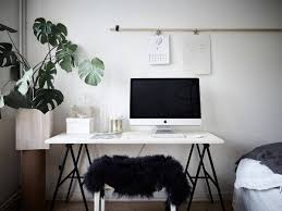 Office In Bedroom by Black And White Home Office Minimalist Home Office In A Bedroom