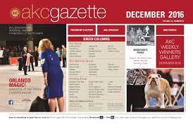 belgian sheepdog nc akc gazette december 2016