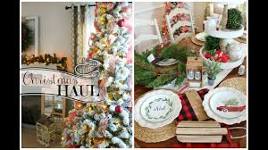 christmas decor haul 2016 target dollar spot home goods new